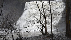 Ithaca Falls after heavy rain 4-27-20