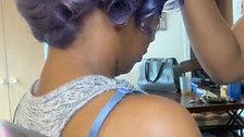Purple Hair Shampoo, Cut & Style!