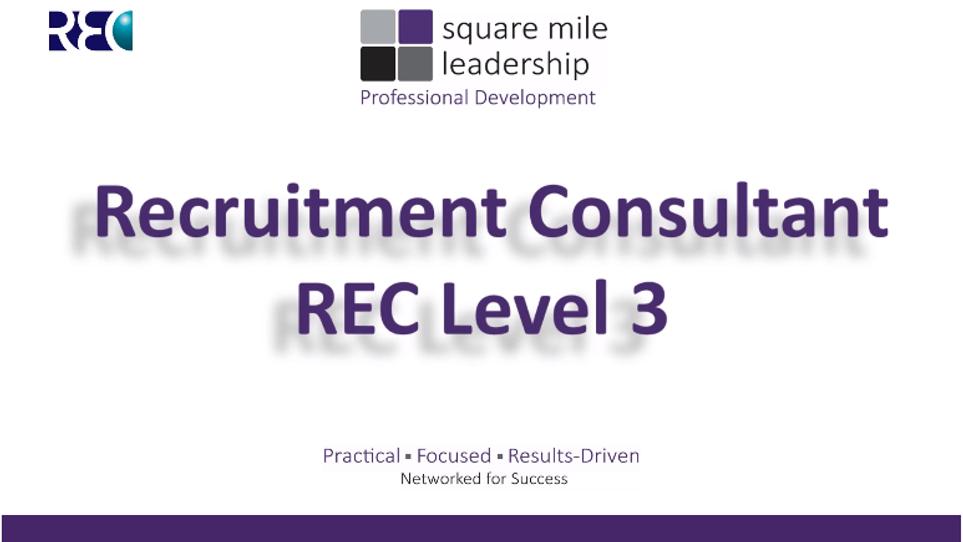 REC Recruitment Company - Recruitment Consultant Snippet