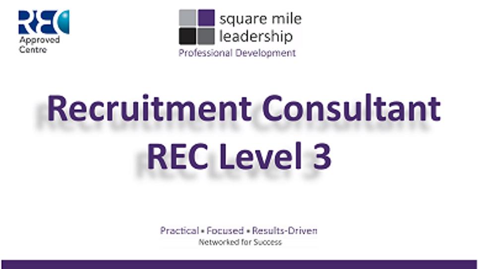 REC Recruitment Consultant - Career Investment - 3.23