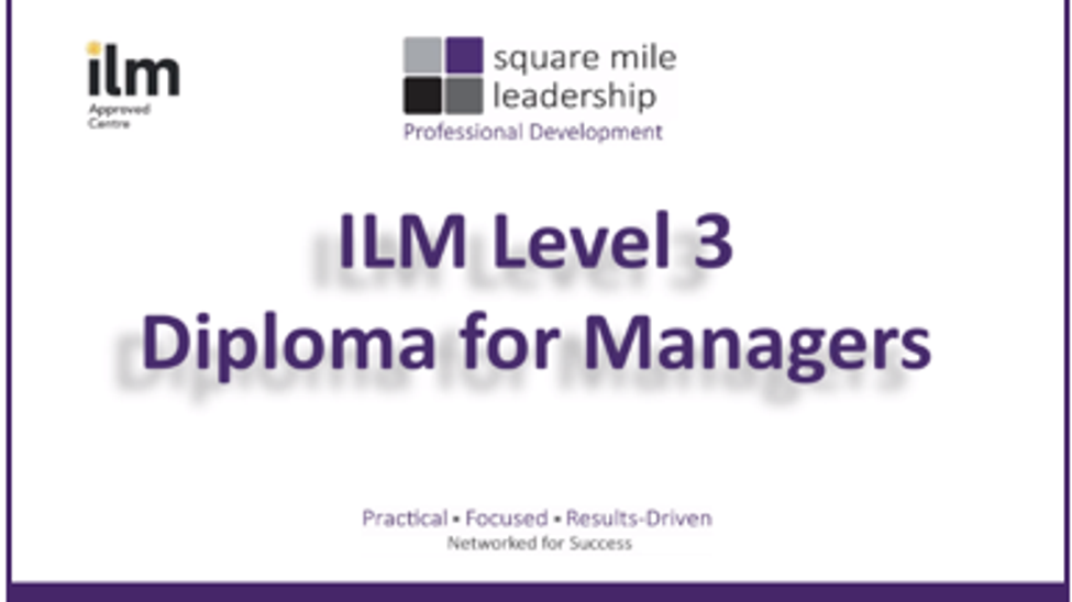 ILM Level 3 Diploma for Managers - Full HD - 2.15