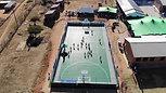 Makgefola Primary School Multipurpose Sport Court Handover