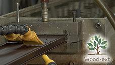 Process de fabrication des lames de terrasses en bois composite Wood-Ext