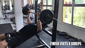Incline Bench Press Instruction