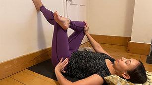 15 Mins - Restorative Yoga Class.