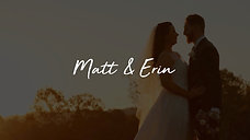 Matt & Erin Wedding Film
