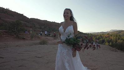Leah & Walter Myers  Sedona Wedding