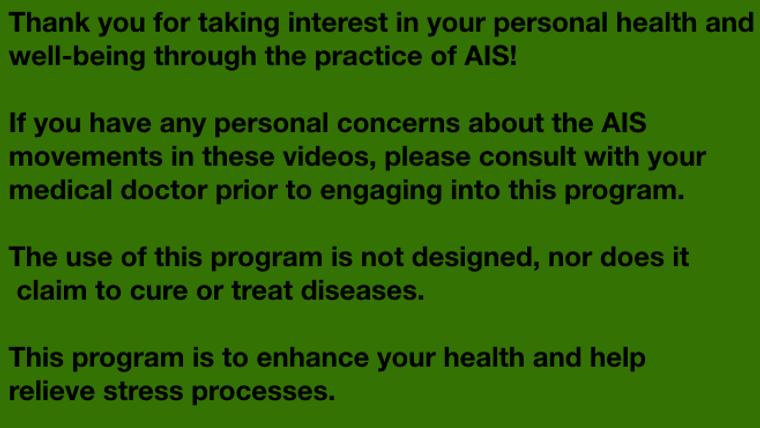 AIS Module 2 Shoulder Emphasis