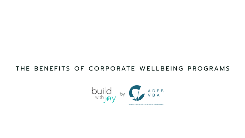The Benefits of Corporate Wellbeing Programs