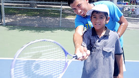 FEATURE ON TENNIS CAMP PRODUCED FOR CBS