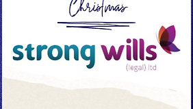 Christmas Message- Strong Wills