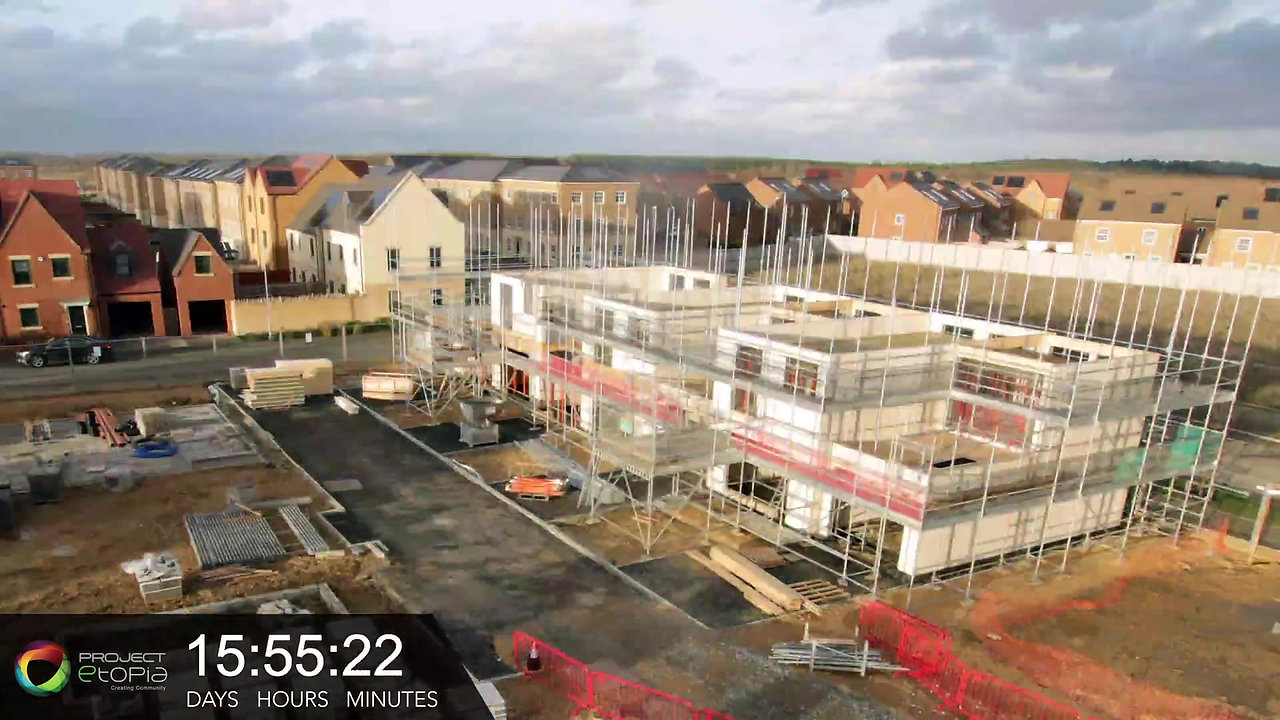 Corby construction timelapse