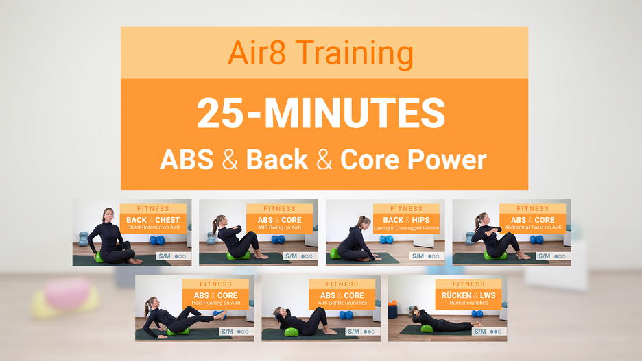 25 Minutes ABS and BACK Training