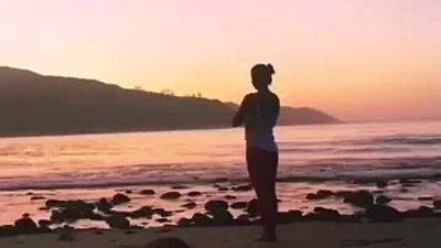 yoga flow sunrise