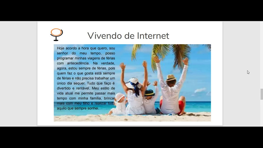 Vivendo de Internet