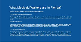 What Are Medicaid Waivers?