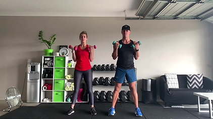 321 (with Weights) with Jarrod & Amanda 1