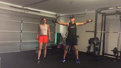 H.I.R.T (High Intensity Resistance Training) with Jarrod & Amanda  1