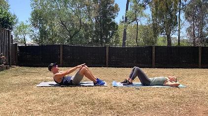 Core & Ab Workout with Jarrod & Amanda