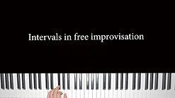 Intervals impro lesson