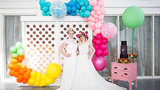 Colour Pops & Brides Who Rock