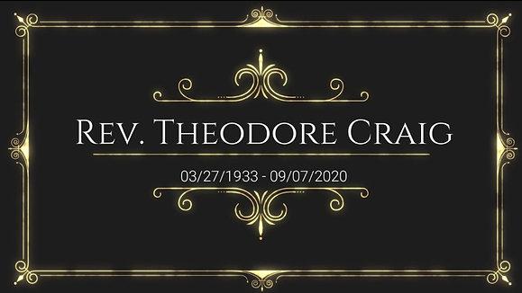 Rev. Theodore Craig Memorial Service