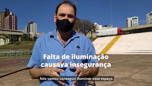 Vila Olímpica terá iluminação em LED