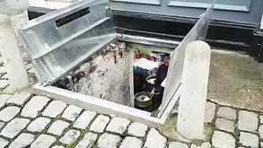 Galvanised Cellar Doors