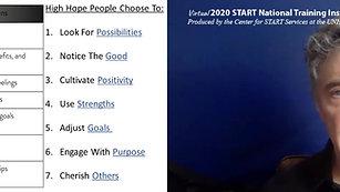 Learned Hopefulness - Virtual SNTI 2020