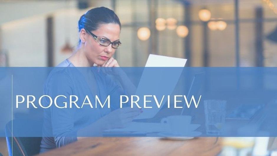 Program Preview