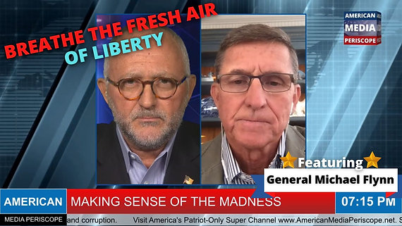 4/7/2021 | 7:00 PM | MSOM | Explosive, Fiery John Michael Chambers Interview With America's General Michael Flynn