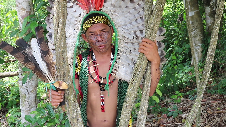 In the Amazon Rainforest with the indigenous people Huni Kuin - Acre, Brazil