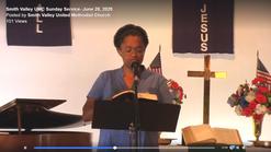 June 28, 2020 Smith Valley UMC Sunday Service