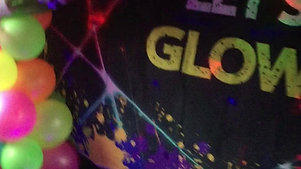 Neon Glow hot tub set up 18-01-2019