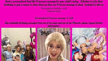 Princess Message - Frozen