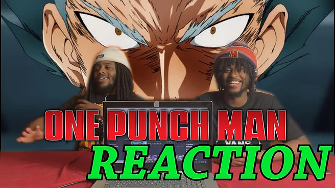One Punch man 2x1 Reaction