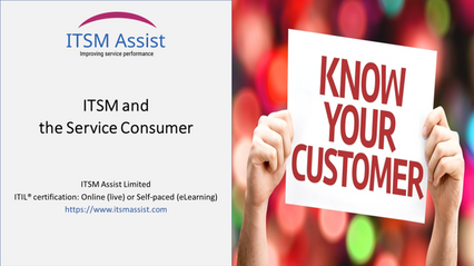 FREE: ITSM and the Service Consumer