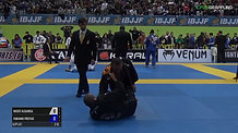 Professor Nas Alganga IBJJF 2017 European Championships - Quarterfinal