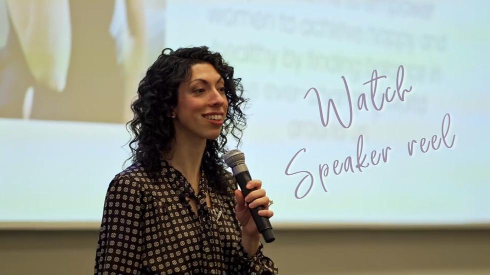 Acheloa Wellness - Lauren Baptiste - Speaker Reel