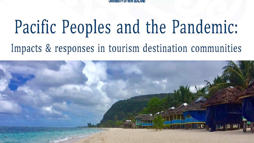 Pacific peoples, the pandemic and tourism