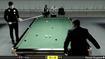Paweł Rogoza - break 126 IBSF World Championship Qatar 2017