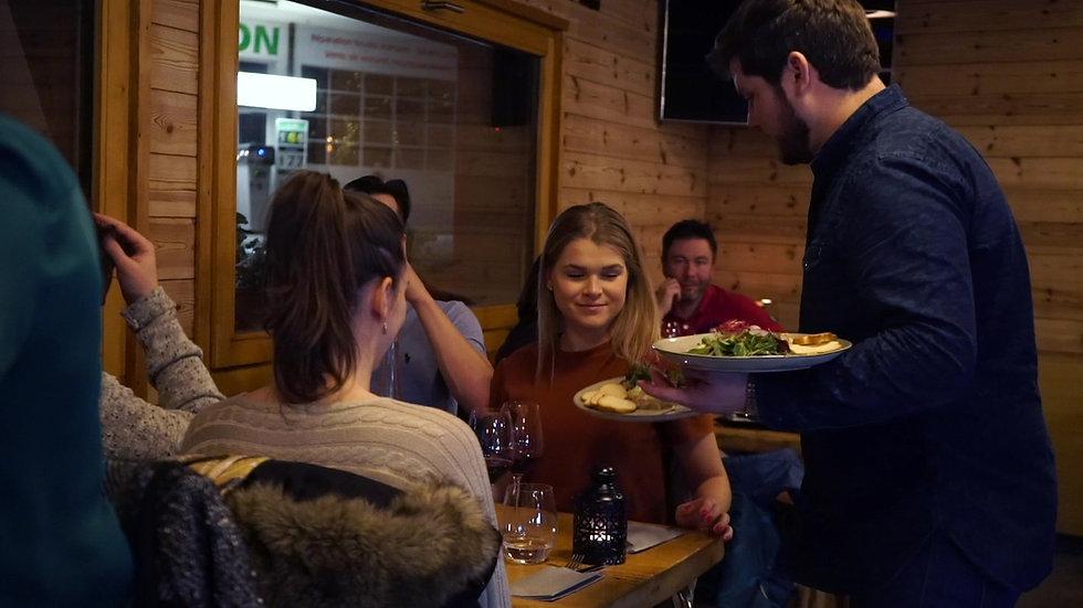 """Convivialité et gourmandise au """"Café des Alpes"""""""