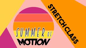 Stretch Class - SOM