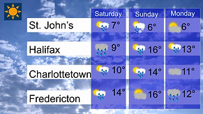 Victoria Day Weekend Weather
