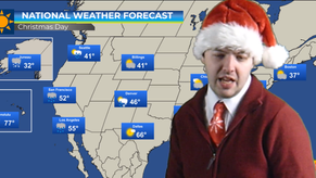 Weather Forecast for Christmas Day