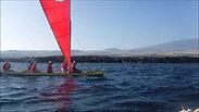 Na Pe'a under sail