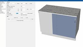 Construction methods for Blind Corner Cabinets