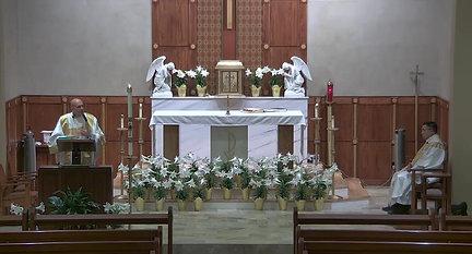 Holy Mass April 9, 2021 Deacon Jeff Homily clip