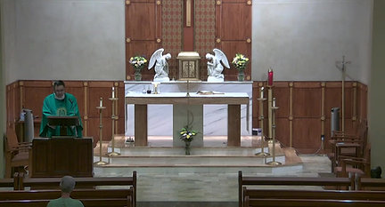 Holy Mass and Rosary, July 7,  2021_Trim