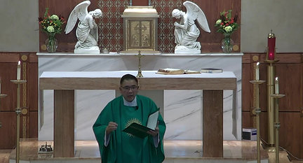 Copy of Holy Mass Sunday,  August 22, 2021_Trim
